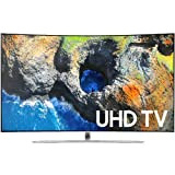 Samsung Electronics UN55MU6500 Curved 55-Inch 4K Ultra HD Smart LED TV (2017 Model)