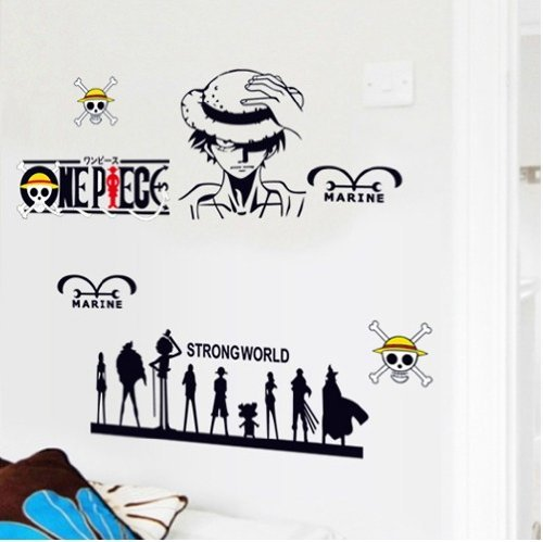 DIY-Home-Decor-Art-Removable-Wall-Stickers-Anime-One-Piece-Mural-Decals-33