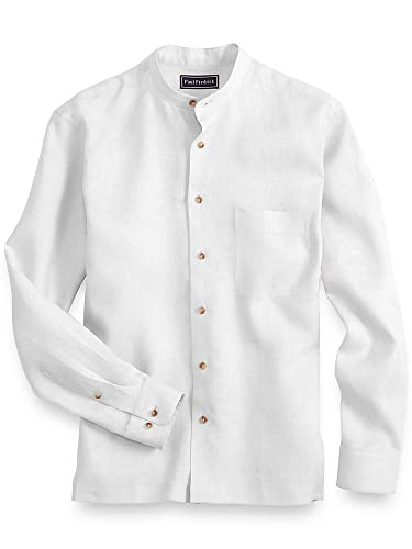 Vintage Shirts – Mens – Retro Shirts Paul Fredrick Mens Linen Casual Shirt $95.00 AT vintagedancer.com