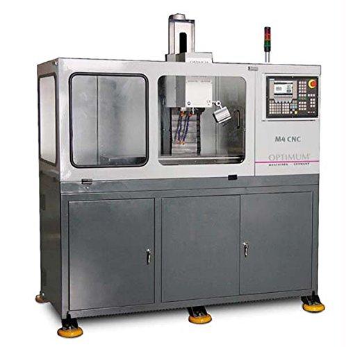 OPTIMUM M4 CNC - CNC-Frä smaschine mit professioneller Siemens-Steuerung 802 S base line Metallkraft