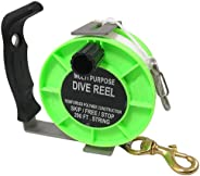Scuba Choice Diving Stainless Steel Heavy Duty Multi-Purpose Dive Reel 290', G