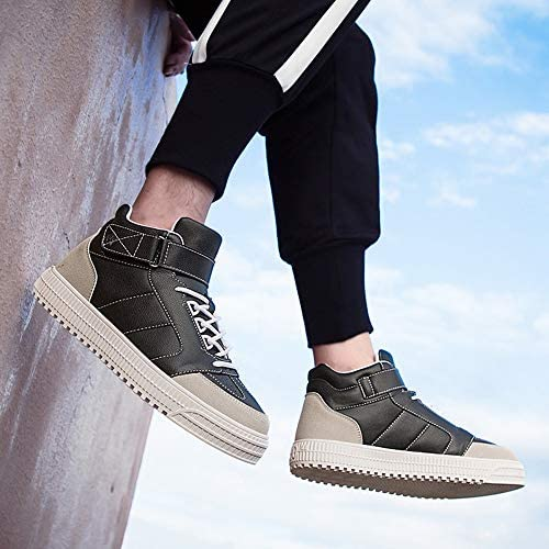 Mens Casual Fashion Comfortable Thick Bottom Ankle Boots Sneakers Sports Shoes Pandaie-Mens Shoes