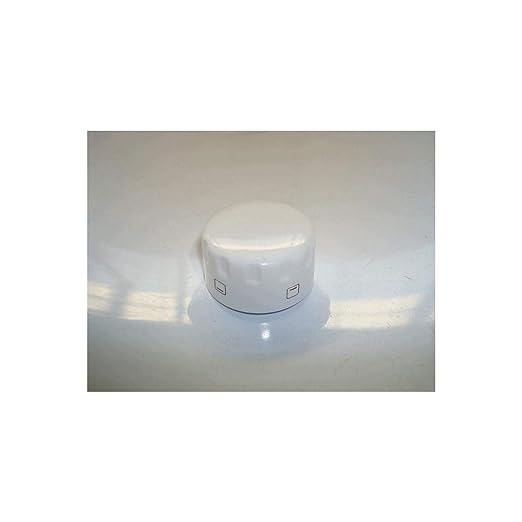 Mando Horno Teka Blanco diametro Eje 6 mm H-610