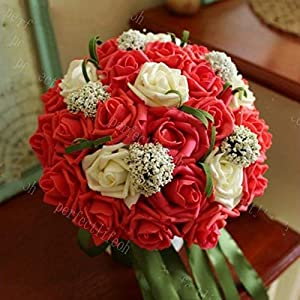 Bride Holding Flowers Wedding Bouquets Wedding Arrangement 62