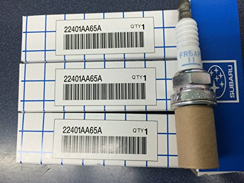 (Subaru OEM Spark Plugs NGK Outback Legacy Impreza Forester NON TURBO (Set of 4))