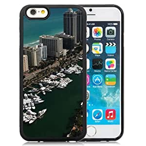 New Beautiful Custom Designed Cover Case For iPhone 6 4.7 Inch TPU With Yachts Miami Florida Phone Case
