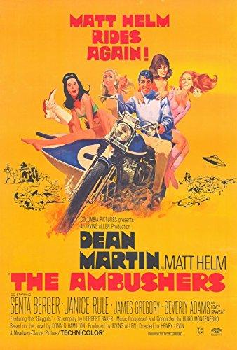 The Ambushers Poster C 27x40 Dean Martin Janice Rule James Gregory - Ambushers Poster
