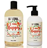 Cleansing Conditioner Straight Hair - Baby Conditioner and Shampoo by Lil Leona: Cleansing conditioner and cowash for kids' hair. (24oz, Baby Conditioner & Shampoo)