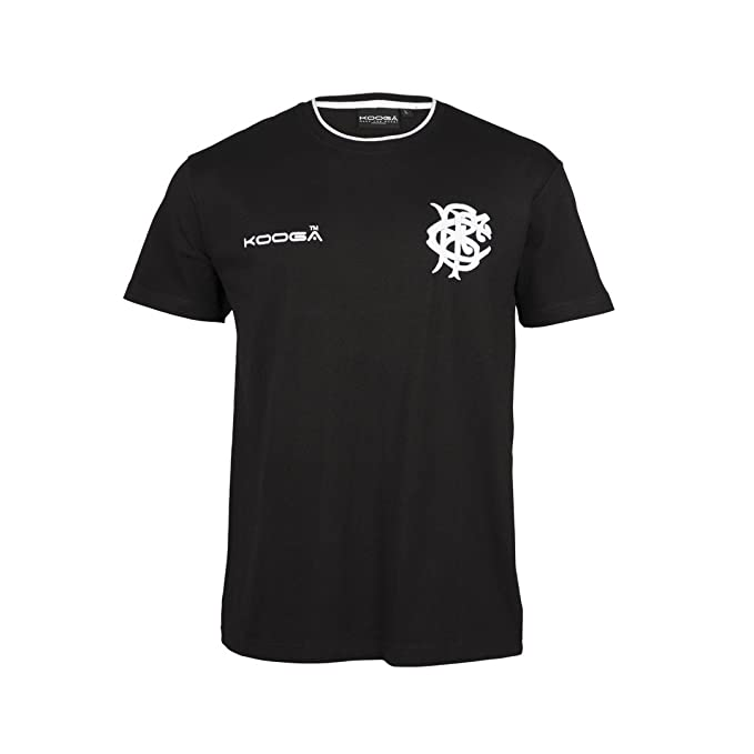 fa8b138c0b0 Barbarians 2017/18 Cotton Training Rugby T-Shirt - Black - Size S ...