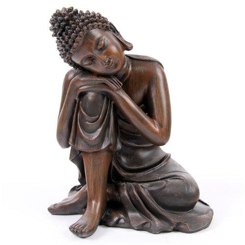 Exceptionnel Effet Bois De Bouddha Tête Sur Les Genoux, 2 Assorties   Bouddha Chinois:  Amazon.fr: Vêtements Et Accessoires