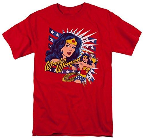 Wonder Woman - Pop Art Wonder T-Shirt Size XL (Wonder Woman T Shirts)