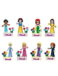 OliaDesign Fairy Tales Snow White/Mermaid/Jasmine Princess Minifigure Building Block Toys Compatible with LEGO BOBEBE Online Baby Store From New York to Miami and Los Angeles
