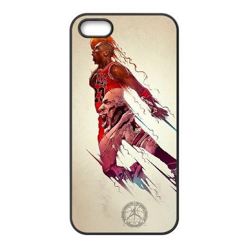 Michael Jordan CN41UT2 coque iPhone 4 4s cellulaire cas de téléphone coque L3LG6P8HQ