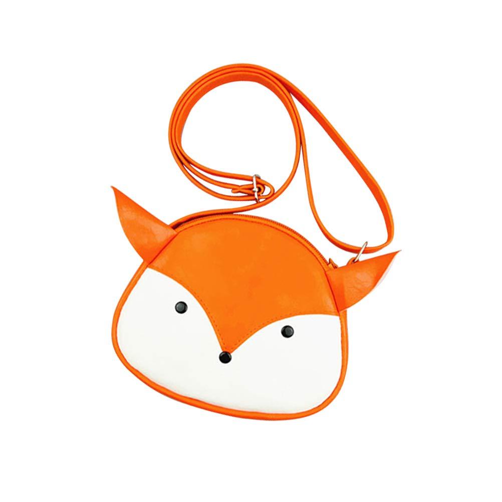 26958d0fefb2 FENICAL Kids Little Girls Leather Fox Crossbody Purse Bag Mini ...