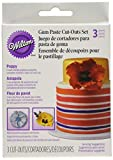 Wilton Poppy Gum Paste Cut Outs