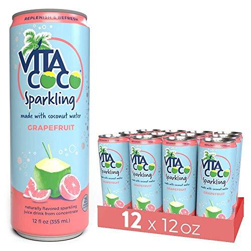 椰子水,可以不那么简单!VitaCoco 果味气泡椰子水