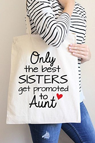 Aunt Hand Tote Only Shopping get Promoted to Best Casual Bag the Bag Sisters Bag Cotton 1aSPSBFYq