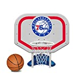 Poolmaster 72954 Philadelphia 76Ers NBA Pro Rebounder-Style Poolside Basketball Game