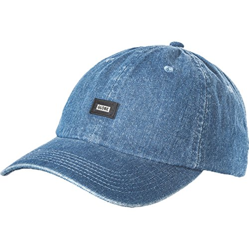 Globe Men's Porter Adjustable Hats,One Size,Washed Blue
