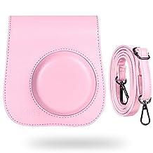 Katia Camera Case Bag for Fujifilm Instax Mini 9 Instant Camera , also for Fujifilm Instax Mini 8 Instant Film, with Accessories Pocket and Strap
