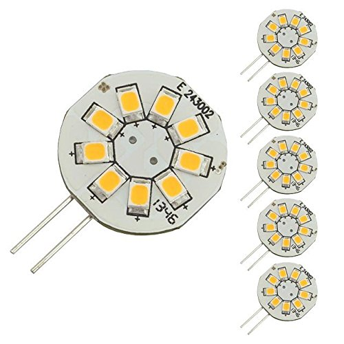 LEDwholesalers Side Pin 9xSMD2835 6 Pack 1106WWx6 product image