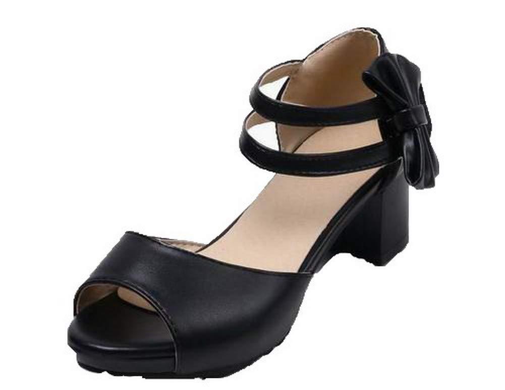 monsieur / madame et voguezone009 tep hook et madame boucle ouverte chez les femmes ccalo015408 pu kitten heels solides sandales, liquidation totale moins cher, connu pour son excellente qualité wa4369 460045