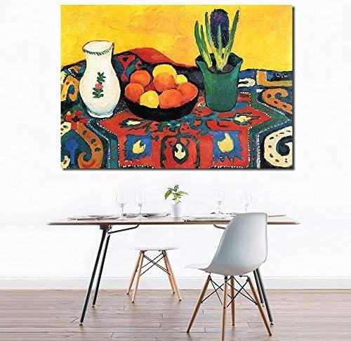 静物キャンバスアート壁写真用リビングルーム現代ヒヤシンスカーペット絵画花家の装飾50×70センチなしフレーム