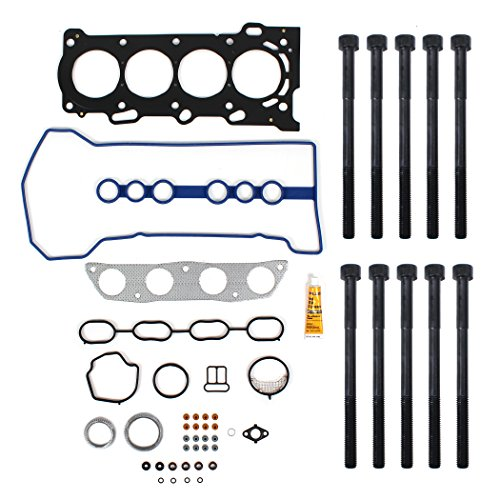 New TS2615803HB MLS Cylinder Head Gasket Set & Head Bolt Kit for 2000-08 Toyota / Pontiac 1.8L 1ZZFE 1ZZ-FE engine by CNS EngineParts