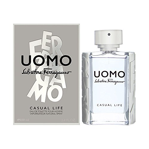 Salvatore Ferragamo Uomo Casual Life Eau De Toilette Spray 100ml/3.4oz
