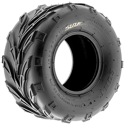 SunF A004 ATV Golf Carts Off-Road Tire 16x7-8, 6 PR, Track & Trail, Tubeless by SunF (Image #2)