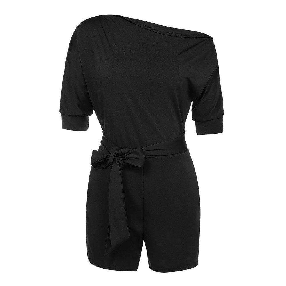 5e227ec0be7e Top 10 wholesale Black One Shoulder Romper - Chinabrands.com