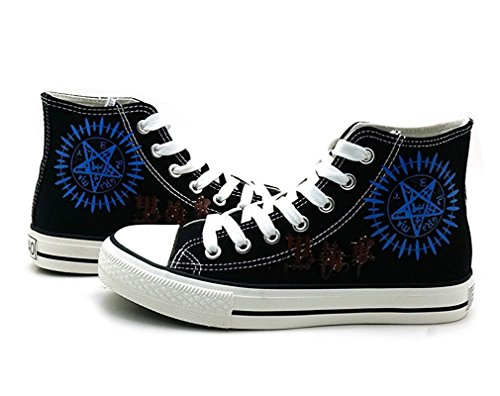 Bromeo Black Butler Unisexo Hola-Top Zapatillas de lona Trainers Zapatos Shoes
