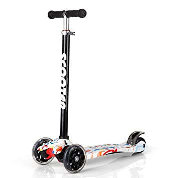 Amazon.com: FUNANDTRICKRIDEONS Kick Scooter - Patinete con ...