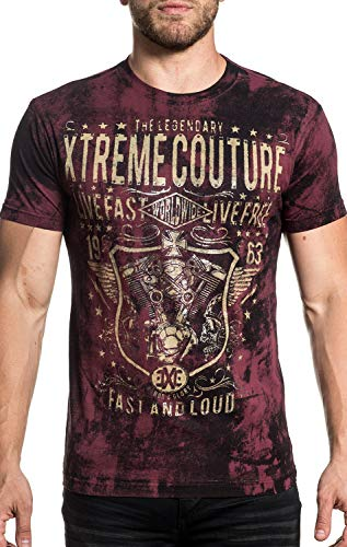 Used, Xtreme Couture Grease & Gasoline Short Sleeve Graphic for sale  Delivered anywhere in Canada