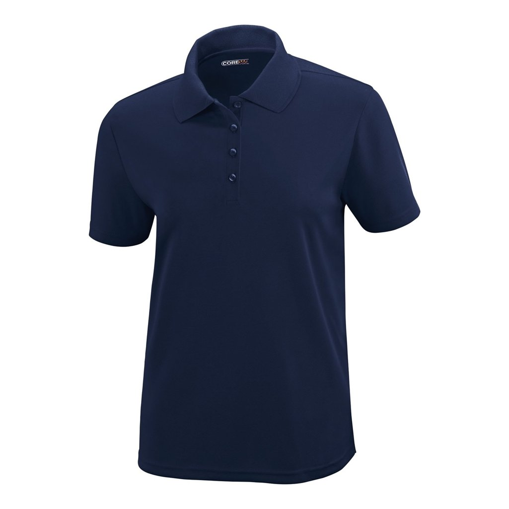Ash City Ladies Origin Core 365 Performance Polo (X-Small, Classic Navy) by Ash City Apparel