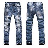Toping Fine Fashion Men Jeans New Arrival Design Slim Fit Fashion Jeans for Men Good Quality Blue Black Y2031