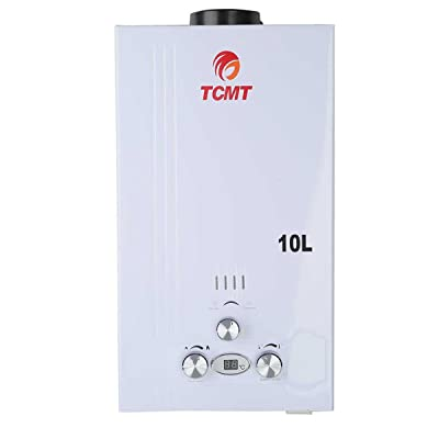 Tengchang 10L 2.6 GPM LPG Gas Propane Instant Tankless Hot Water Heater Boiler Bath