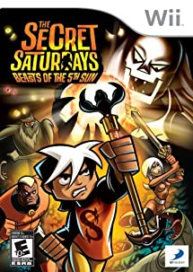 The Secret Saturdays: Beasts of the 5th Sun - Nintendo Wii