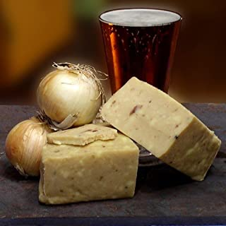 product image for English Cheddar Cheese with Caramelized Onions - Whole Form (2.2 pound)