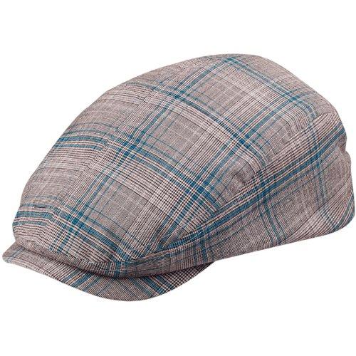 Wholesale Fashion Plaid Ivy /Flat /Scally / Driving Caps (Blue Plaid, Size Large) - 3374 -