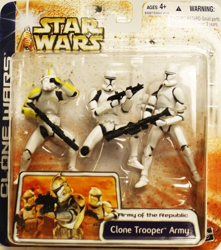 Star Wars Yellow Clone - Star Wars Clone Wars Army of the Republic With Yellow Highlights