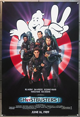 Ghostbusters II (1989) Original Advance One Sheet Poster (27x41)