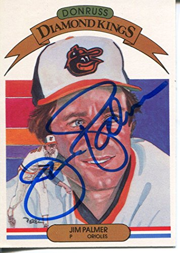 Jim Palmer Autographed 1982 Donruss Card