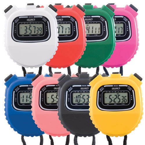 BSN Sports Mark 1 106L Stopwatch (Pack of 8 Color)
