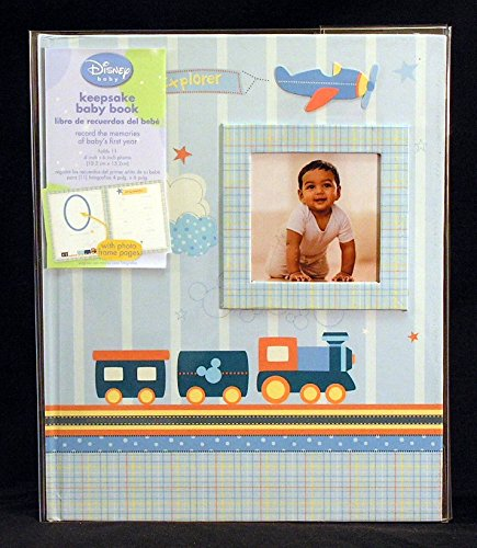 Disney Baby Little Explorer Keepsake Memory Book with Photo Frame Pages C.R. Gibson MB8-8660