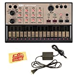 Korg Volca Keys Analogue Loop Synth Bundle with Power Supply and...
