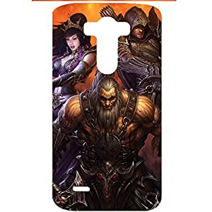 Diablo Handsome Character Plastic Phone Case for LG G3