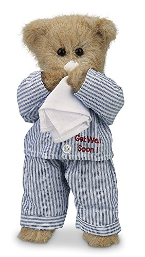 Bearington Illie Willie Get Well Soon Teddy Bear 10""