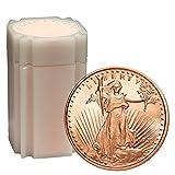 20 Rounds- Saint Gaudens 1/2 oz .999 Copper Bullion Rounds