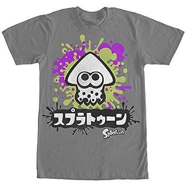 Nintendo Splatoon White Inkling Squid Mens 2XL Graphic T Shirt - Fifth Sun